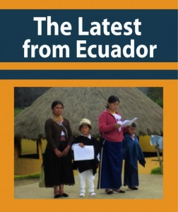 the latest from ecuador